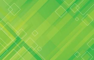 Square Geometric Green Color Background vector
