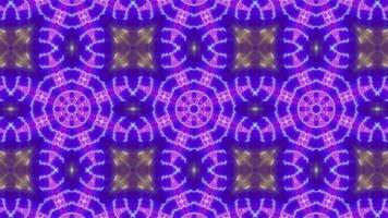 Glowing Multi Color Lamp Kaleidoscope video