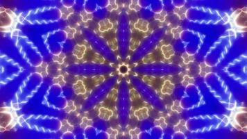 Fast Floral Kaleidoscope video