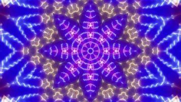 Flower Shape Lamp Kaleidoscope video