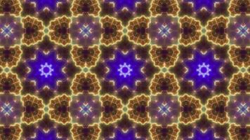 Three Small Multi Color Lamp Kaleidoscope video