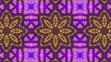 Psychedelia Kaleidoscope Flower video
