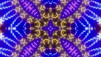 X Shape Color Kaleidoscope video