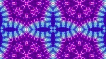 Blinking Cross Shape Kaleidoscope video