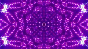 Neon Color Kaleidoscope video