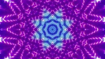 Fast Blink Neon Color Lamp Kaleidoscope video