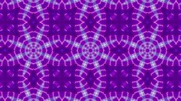Three VJ Neon Color Lamp Kaleidoscope video
