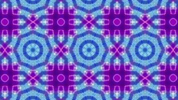 Three Kaleidoscope Blinking Small Flower video