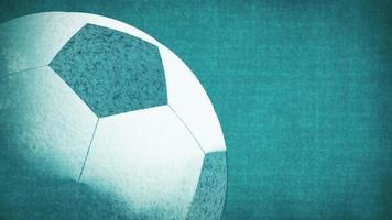 Spinning Soccer Ball video