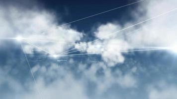 concetto internet rete dati design tecnologia simbolo digitale concept design hd video