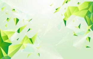 Abstract Geometric 3D Triangles Background vector