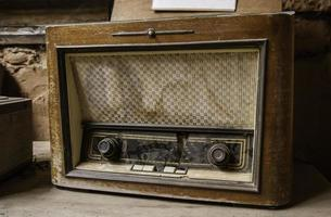 Old radio station photo