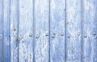 Blue wood background texture photo