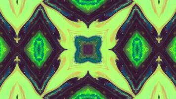 abstrakt måla pensel bläck explodera kalejdoskop video