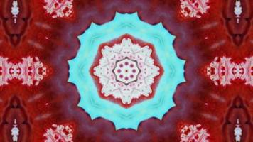 abstrait pinceau encre exploser kaléidoscope video