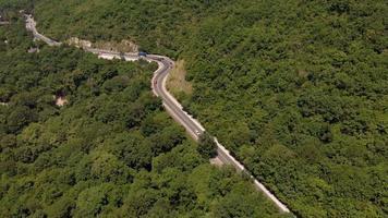 Serpentine Aerial shot video