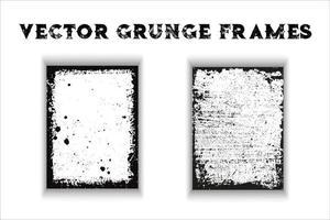 Vector Grunge Frames