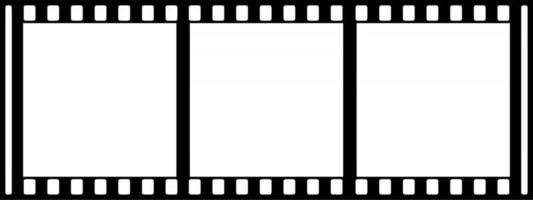 Photo Film Strip Frames vector