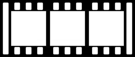 Film Strip Cinema Roll vector