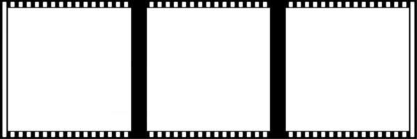 Hollywood Film Frames vector
