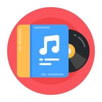 Music Album and CD vector