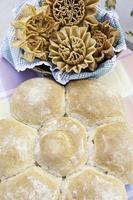 Traditional artisan bread photo