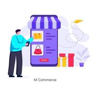 Order Confirmation and Shopping vector