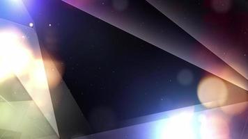 geometrische abstracte hi-tech achtergrond video
