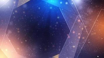 Hi Tech Geometric Abstract Background video