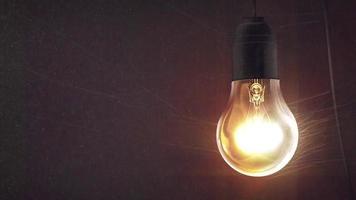 Spooky Lightbulb in Webs video