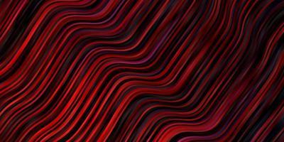 Dark Red wavy line background vector