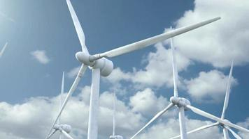 Electricity wind green renewable energy environmental environment sustainable technology video HD