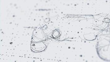 digital bakgrundsvideo abstrakt netto koncept spelkontroll spel skanningsteknik 3d design hd video
