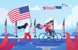 4th of July Celebration vector