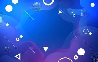 Modern Blue Gradient Background vector