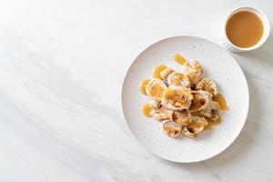 Grills Banana with Caramel Sauce photo