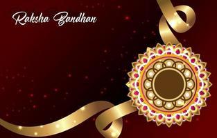 Raksha Bandhan Background Template vector