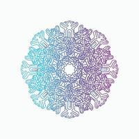 Mandala Decorative And Ornamental Abstract Colorful design vector