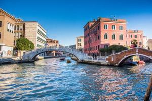 Fondamenta de la Cazziola , Santa Croce street, Ponte de la Cazziola Venezia, 2019 photo