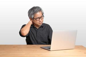 Working Asian Man photo