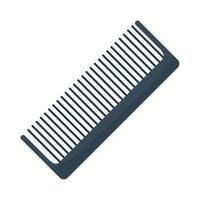 comb makeup accessory isolated icon vector
