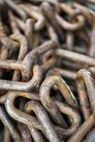 Chains vintage closeup photo