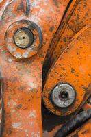 detalle de piezas mecánicas foto