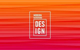 Orange gradient abstract background with 3d texture design vector