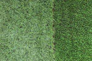 material de hierba verde artificial foto