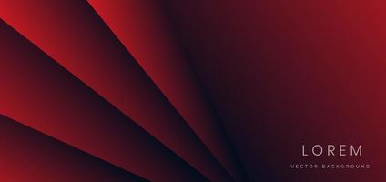 Abstract red geometric diagonal overlay layer background. You can use for ad, poster, template, business presentation. vector