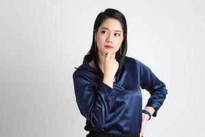 Asian Woman Isolated photo