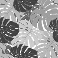 leaf background seamless pattern vector