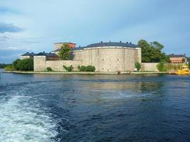 Vaxholm fortress in the Stockholm Archipelago Sweden photo