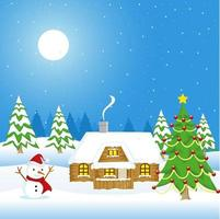 Christmas Theme And Background vector